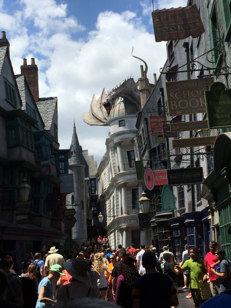 Dragon at Gringots