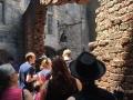 Bricks leading into Diagon Alley