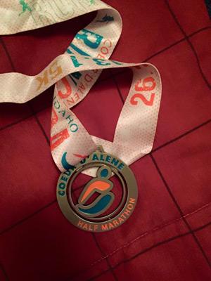 Coeur d'Alene 2015 Medal