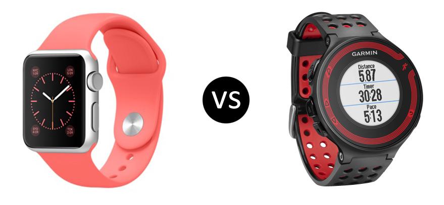 Apple Watch vs Garmin Forerunner 220